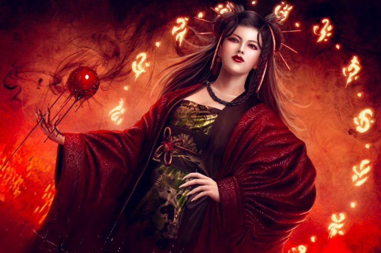 L5R Legend-of-the-Five-Rings fantasy online cardgame legend five rings mmo game warrior samurai (59) wallpaper