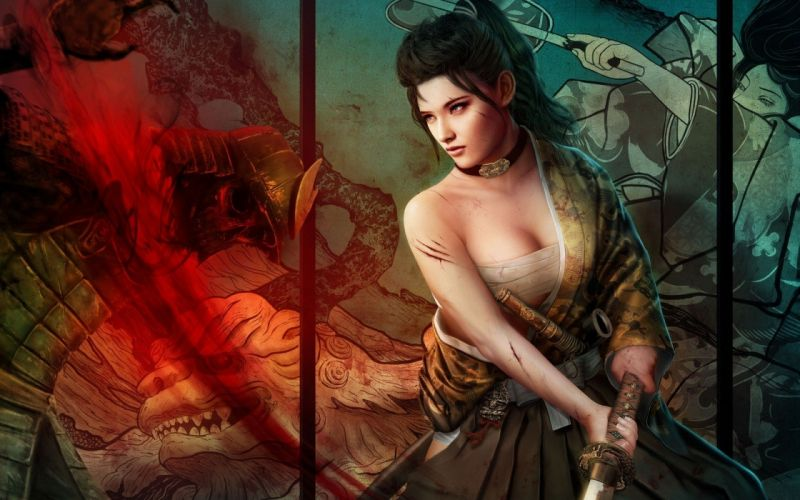 L5R Legend-of-the-Five-Rings fantasy online cardgame legend five rings mmo game warrior samurai (69) wallpaper