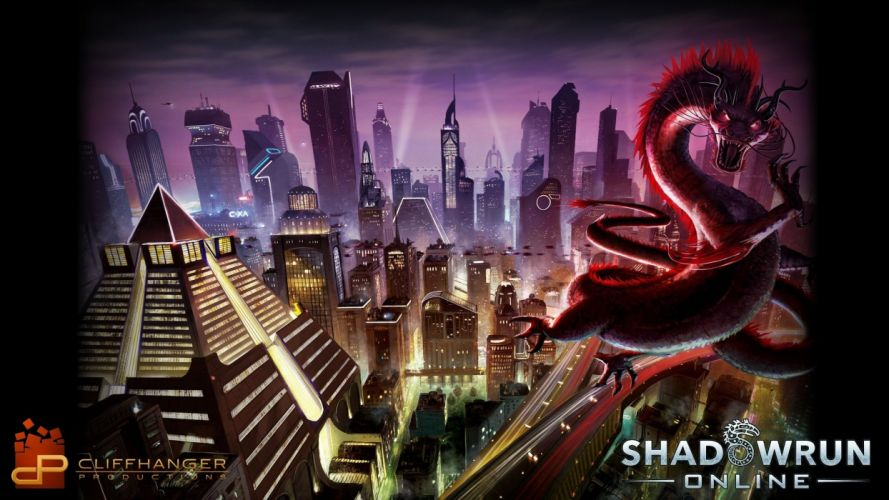 SHADOWRUN cardgame game mmo online fantasy sci-fi warrior fighting cyberpunk shooter (2) wallpaper