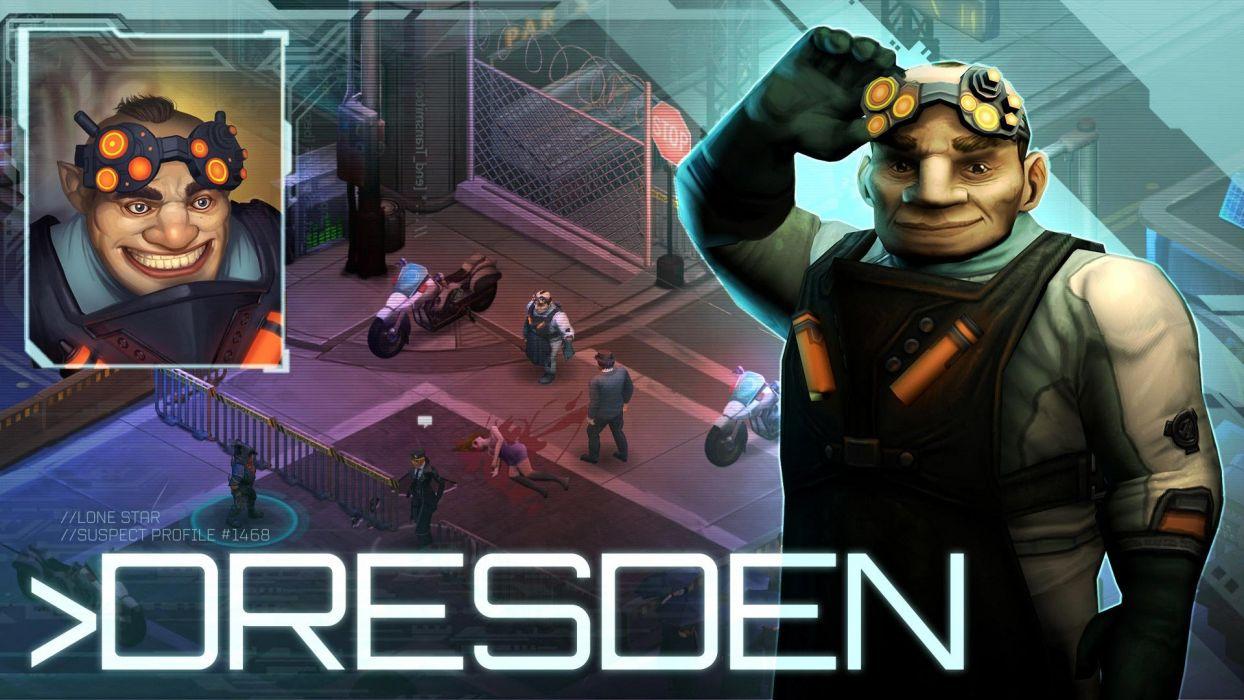 SHADOWRUN cardgame game mmo online fantasy sci-fi warrior fighting cyberpunk shooter (33) wallpaper