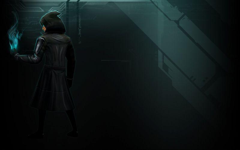 SHADOWRUN cardgame game mmo online fantasy sci-fi warrior fighting cyberpunk shooter (41) wallpaper
