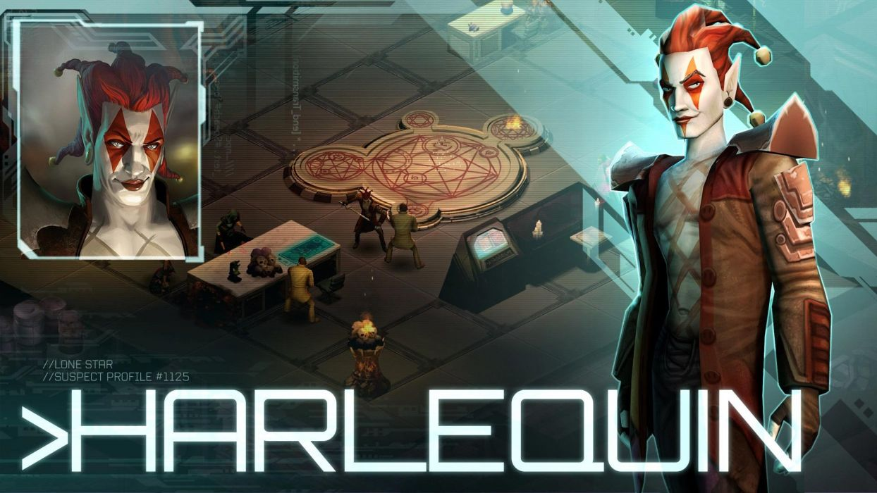 SHADOWRUN cardgame game mmo online fantasy sci-fi warrior fighting cyberpunk shooter (34) wallpaper