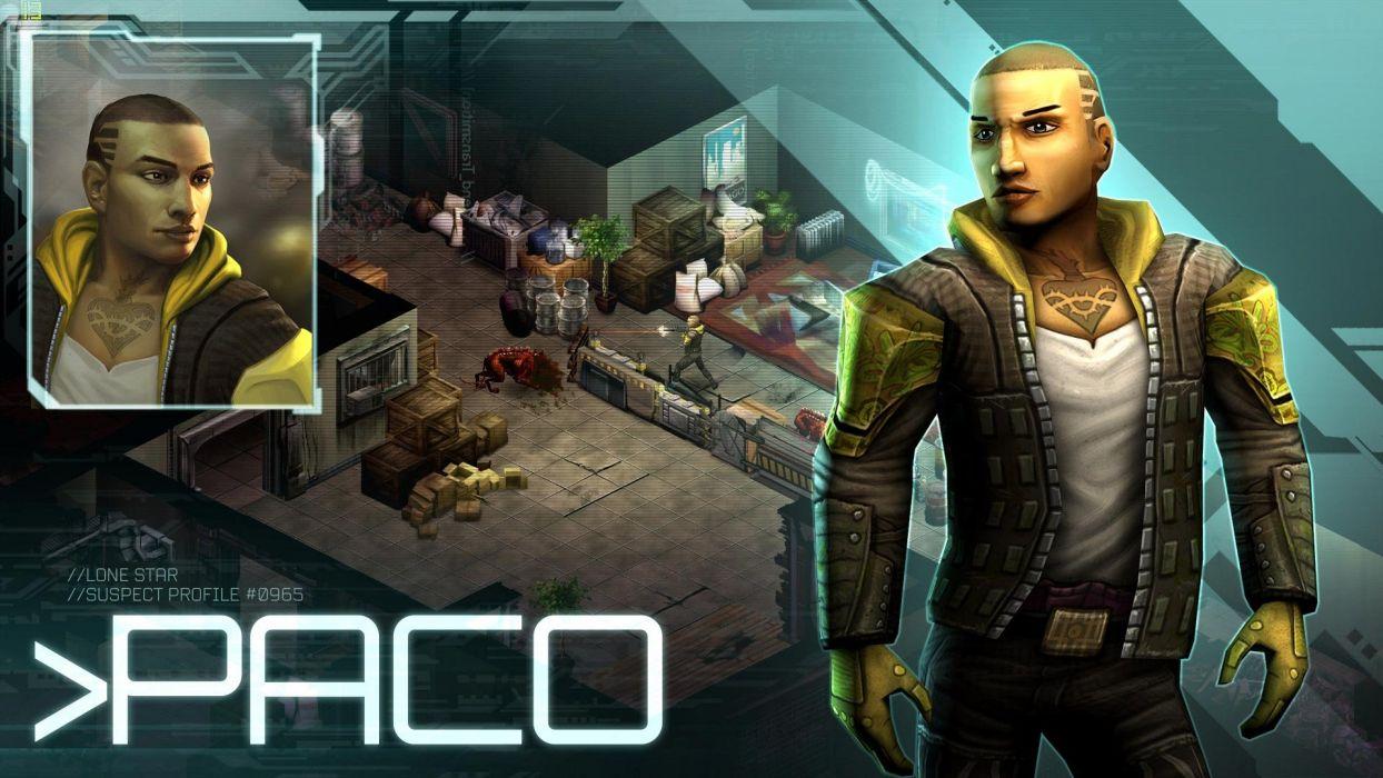 SHADOWRUN cardgame game mmo online fantasy sci-fi warrior fighting cyberpunk shooter (37) wallpaper