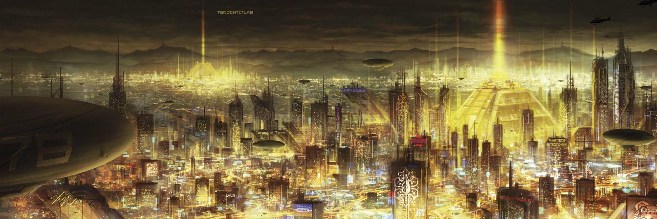 SHADOWRUN cardgame game mmo online fantasy sci-fi warrior fighting cyberpunk shooter (45) wallpaper