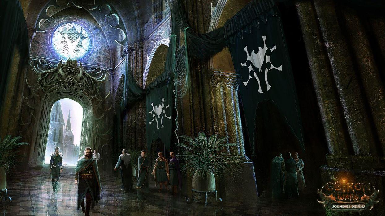 CEIRON-WARS strategy rpg dark fantasy mmo online ceiron wars warrior (7) wallpaper
