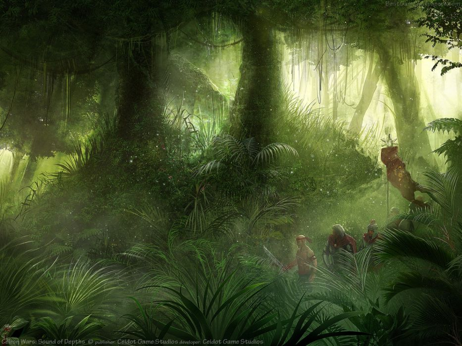 CEIRON-WARS strategy rpg dark fantasy mmo online ceiron wars warrior (2) wallpaper