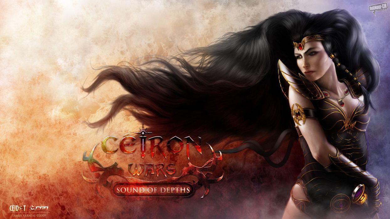 CEIRON-WARS strategy rpg dark fantasy mmo online ceiron wars warrior (13) wallpaper