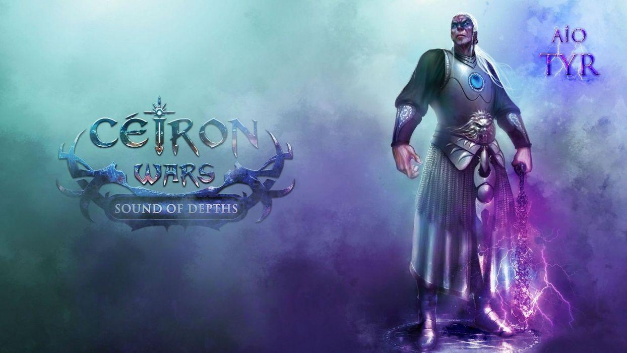 CEIRON-WARS strategy rpg dark fantasy mmo online ceiron wars warrior (12) wallpaper