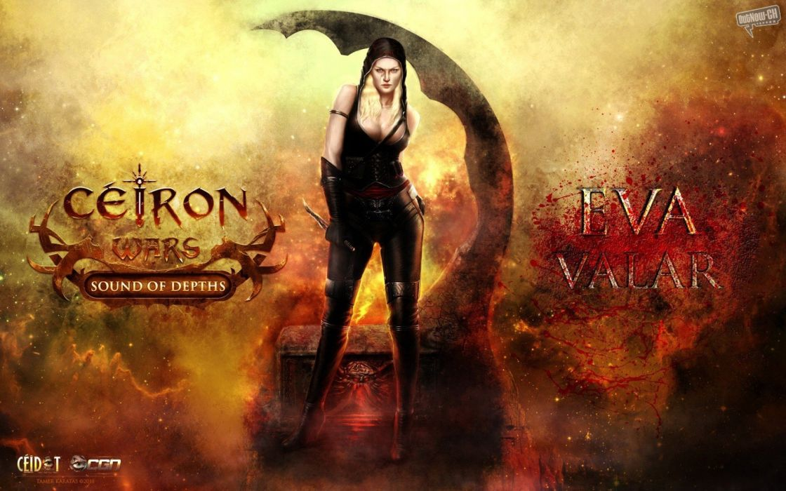CEIRON-WARS strategy rpg dark fantasy mmo online ceiron wars warrior (19) wallpaper