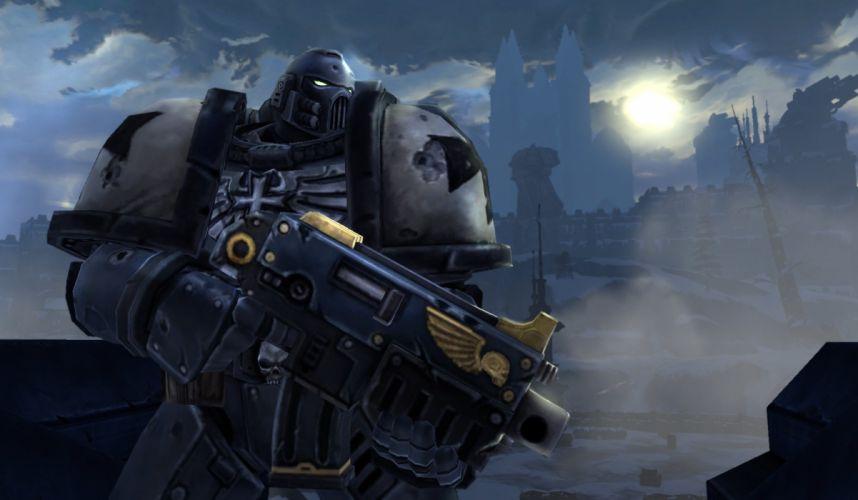 WARHAMMER 40000 Dark Millennium sci-fi action online (5) wallpaper