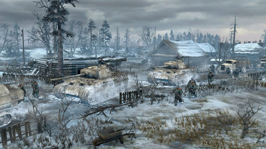 COMPANY-OF-HEROES strategy mmo onlime military war shooter action company heroes battle (17) wallpaper