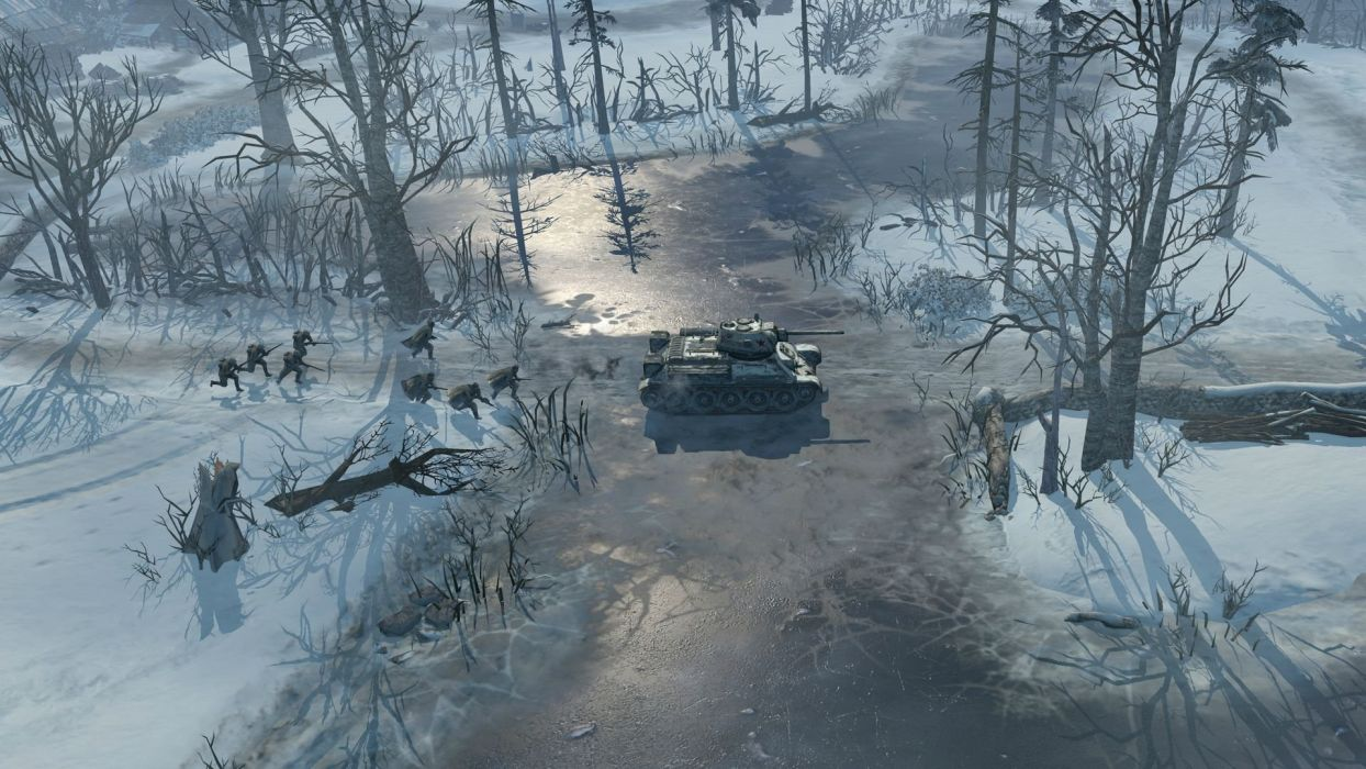 COMPANY-OF-HEROES strategy mmo onlime military war shooter action company heroes battle (19) wallpaper