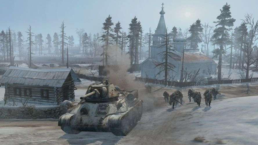 COMPANY-OF-HEROES strategy mmo onlime military war shooter action company heroes battle (23) wallpaper
