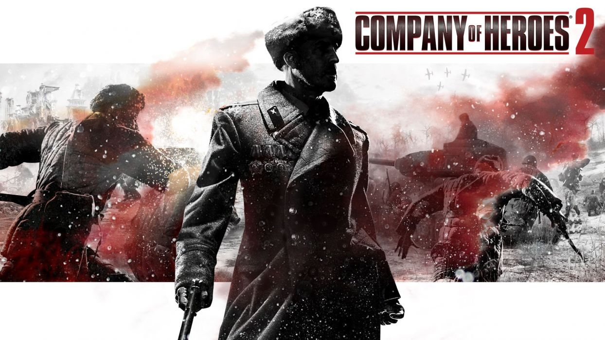 COMPANY-OF-HEROES strategy mmo onlime military war shooter action company heroes battle (40) wallpaper