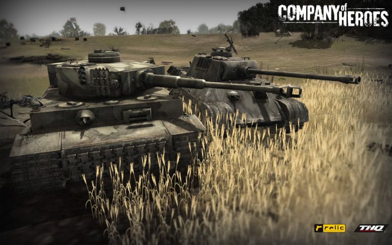 COMPANY-OF-HEROES strategy mmo onlime military war shooter action company heroes battle (36) wallpaper