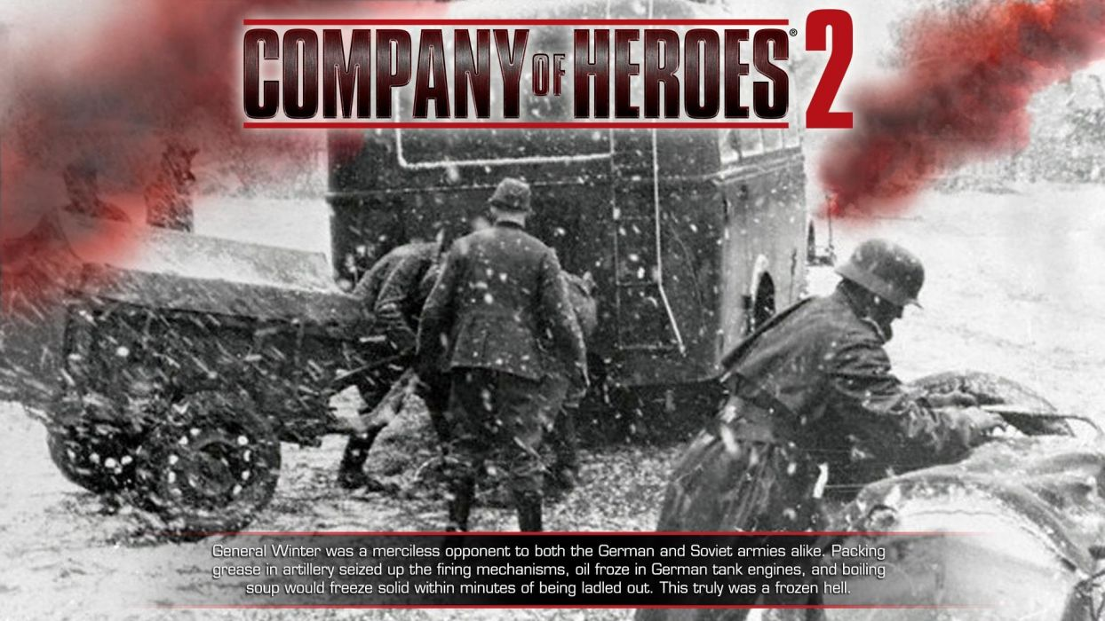 COMPANY-OF-HEROES strategy mmo onlime military war shooter action company heroes battle (56) wallpaper