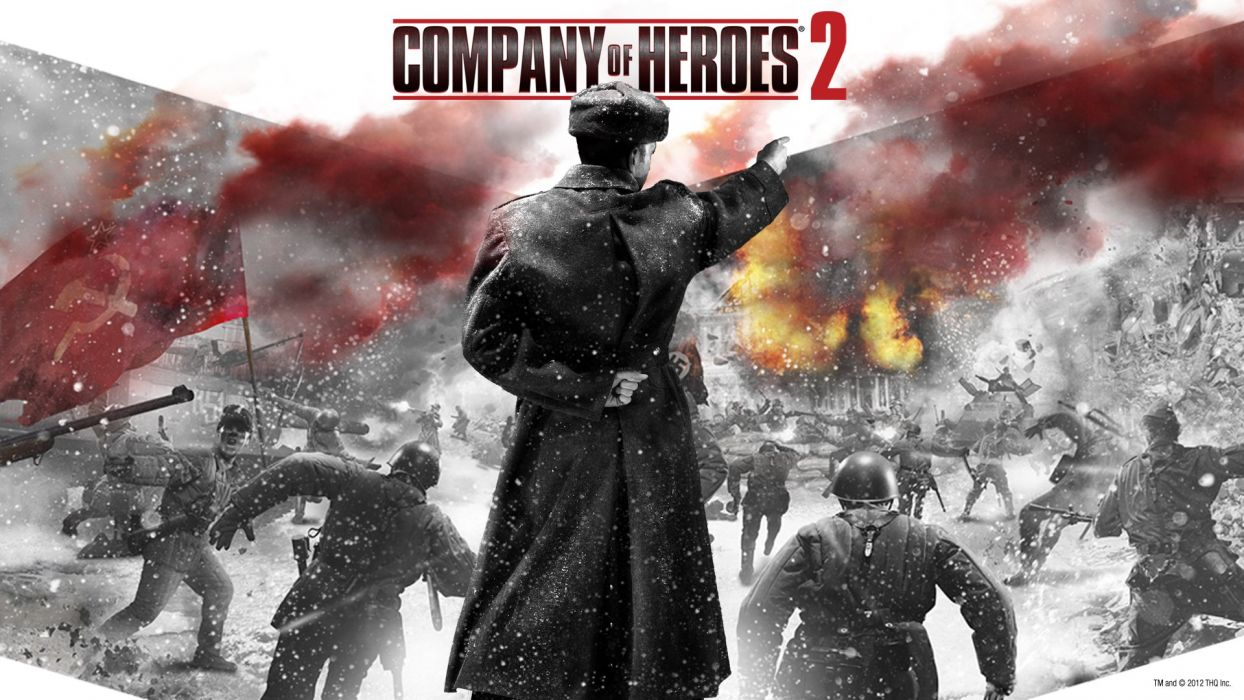 COMPANY-OF-HEROES strategy mmo onlime military war shooter action company heroes battle (58) wallpaper