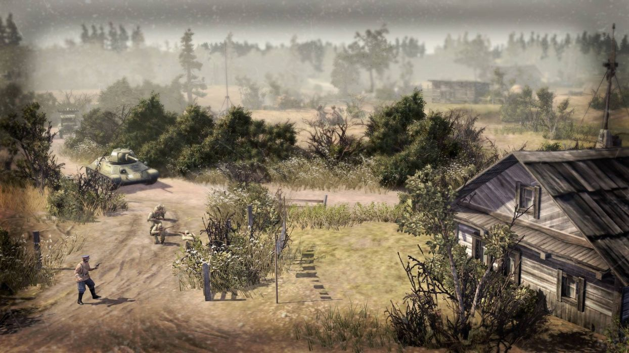 COMPANY-OF-HEROES strategy mmo onlime military war shooter action company heroes battle (73) wallpaper