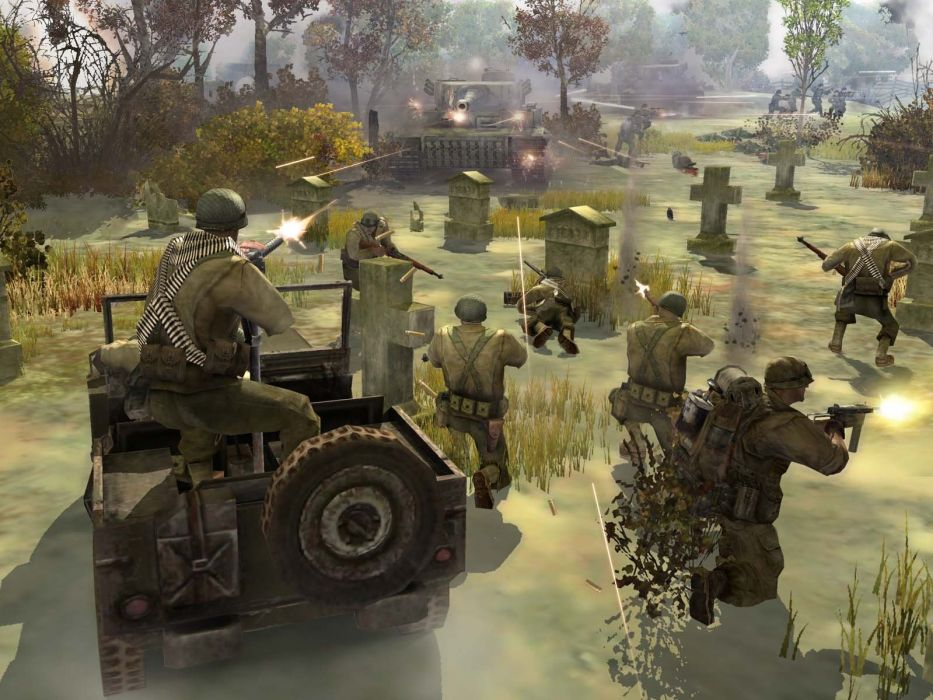 COMPANY-OF-HEROES strategy mmo onlime military war shooter action company heroes battle (82) wallpaper