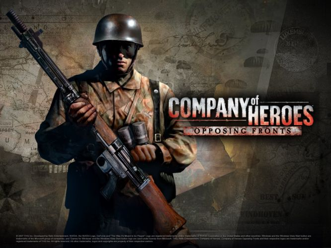COMPANY-OF-HEROES strategy mmo onlime military war shooter action company heroes battle (87) wallpaper