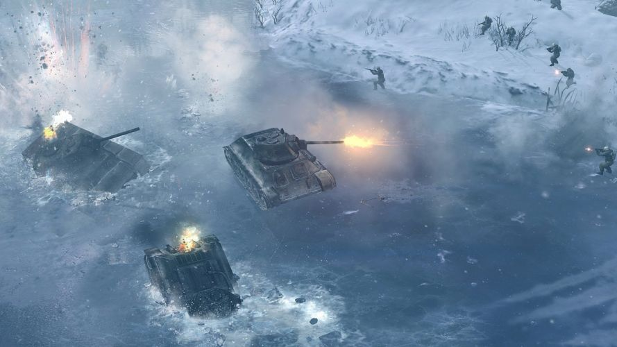 COMPANY-OF-HEROES strategy mmo onlime military war shooter action company heroes battle (103) wallpaper