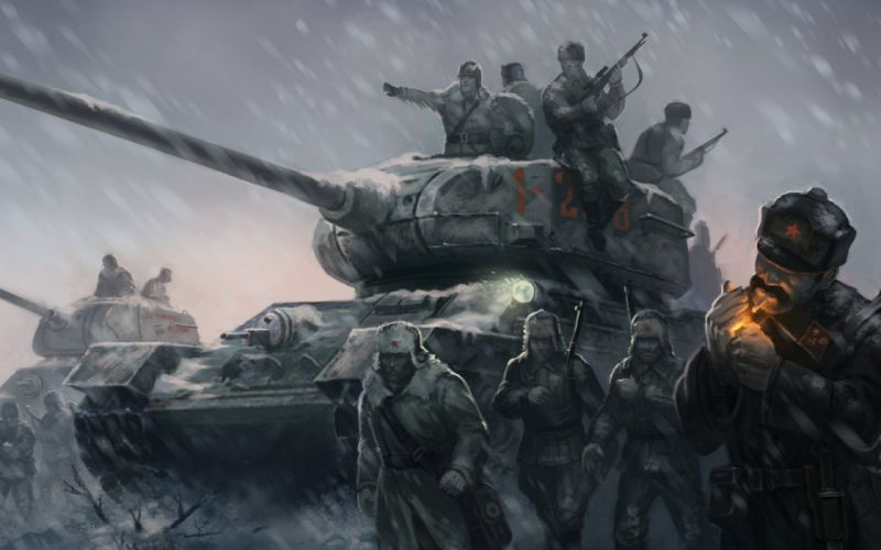 COMPANY-OF-HEROES strategy mmo onlime military war shooter action company heroes battle (100) wallpaper