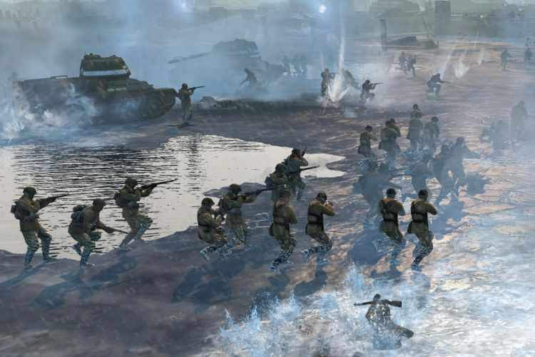 COMPANY-OF-HEROES strategy mmo onlime military war shooter action company heroes battle (112) wallpaper