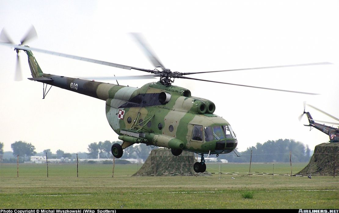 helicopter aircraft transport Poland military army  wallpaper