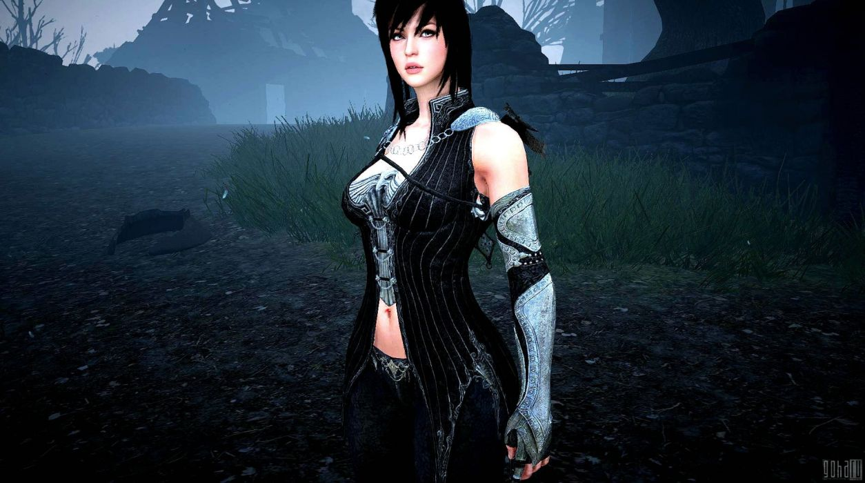 BLACK-DESERT online mmo rpg fantasy fighting action adventure black desert (26) wallpaper