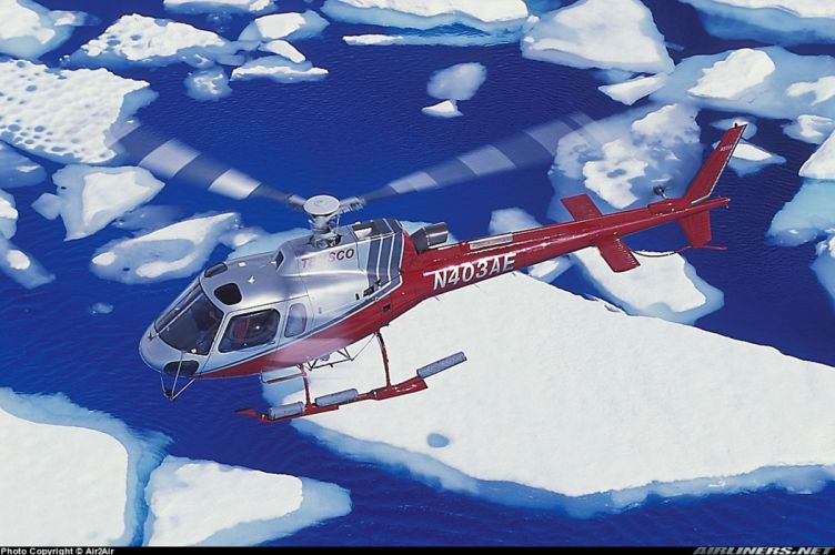helicopter aircraft ice wallpaper