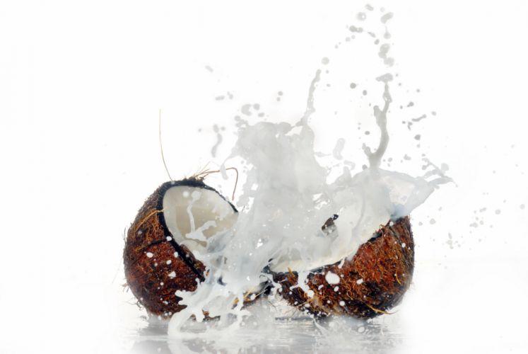 Coconuts Spray Food wallpaper