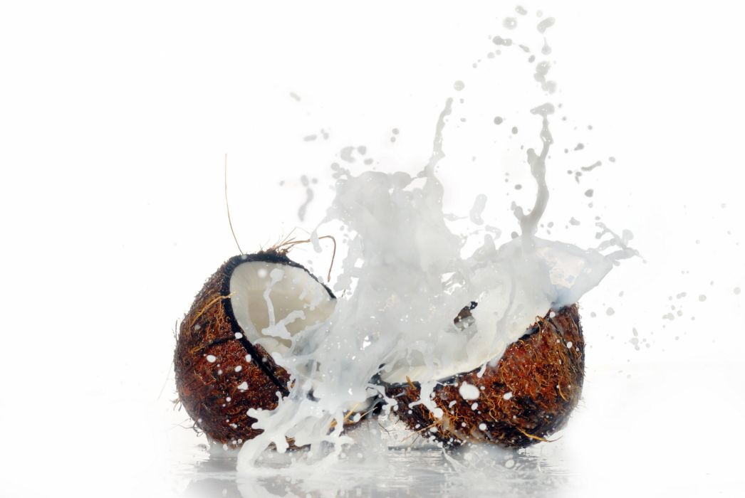 Coconuts Spray Food wallpaper