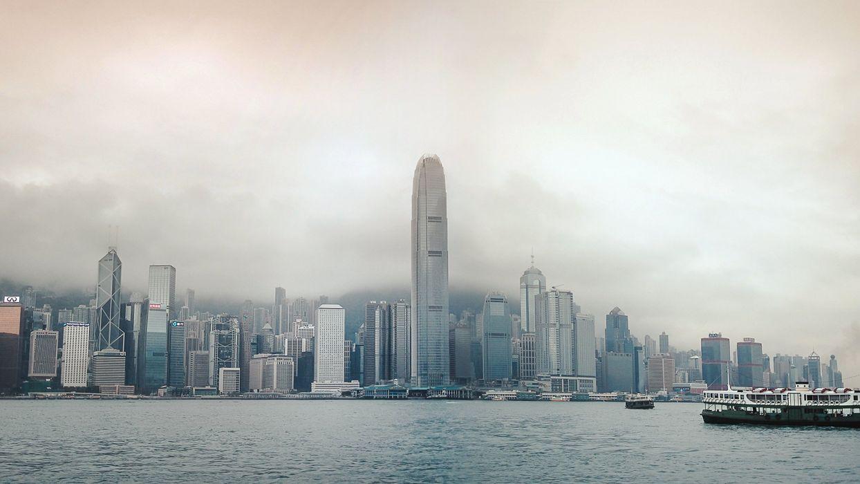 Hong Kong Building wallpaper