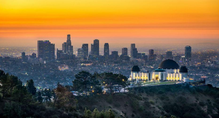 Los AngelesBuildings Skyscrapers Observatory wallpaper