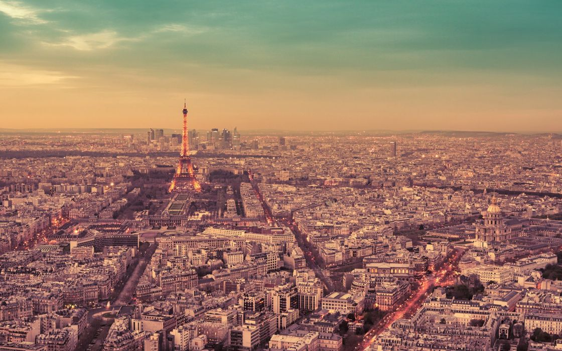 Paris Buildings Eiffel Tower Tower France wallpaper