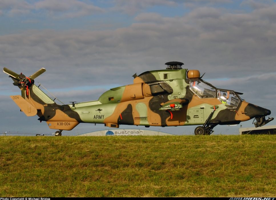 helicopter aircraft attack military army eurocopter tiger Australia wallpaper