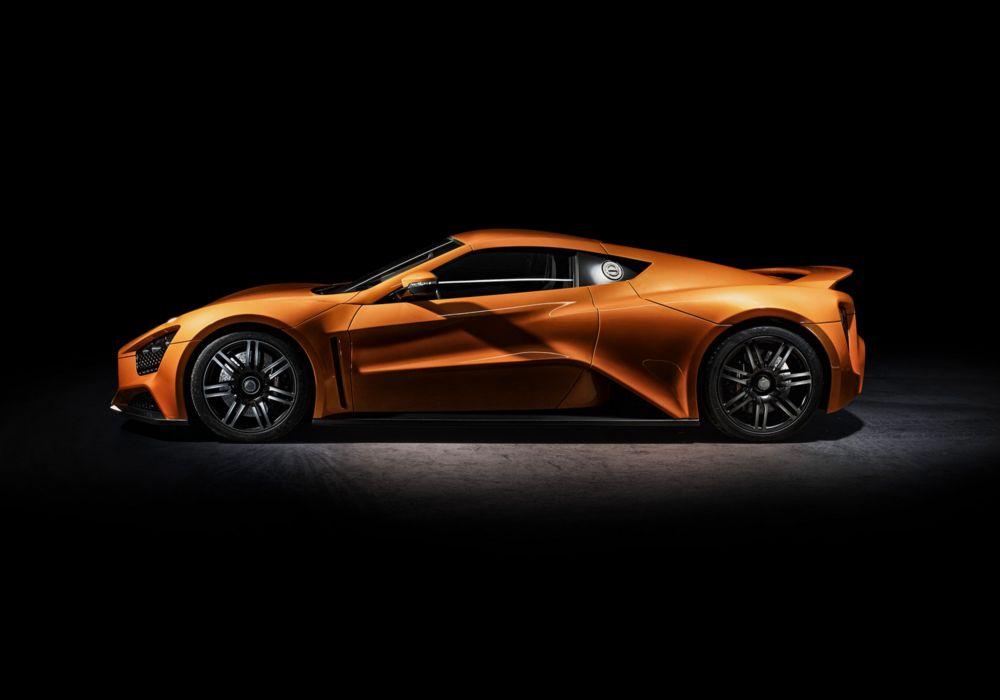 2009 Zenvo ST1 supercar car sports orange wallpaper