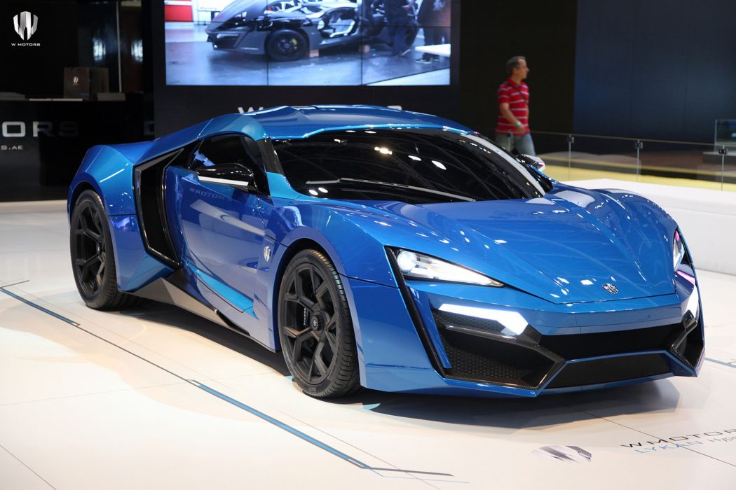 2014 Lykan HyperSport supercar car wallpaper