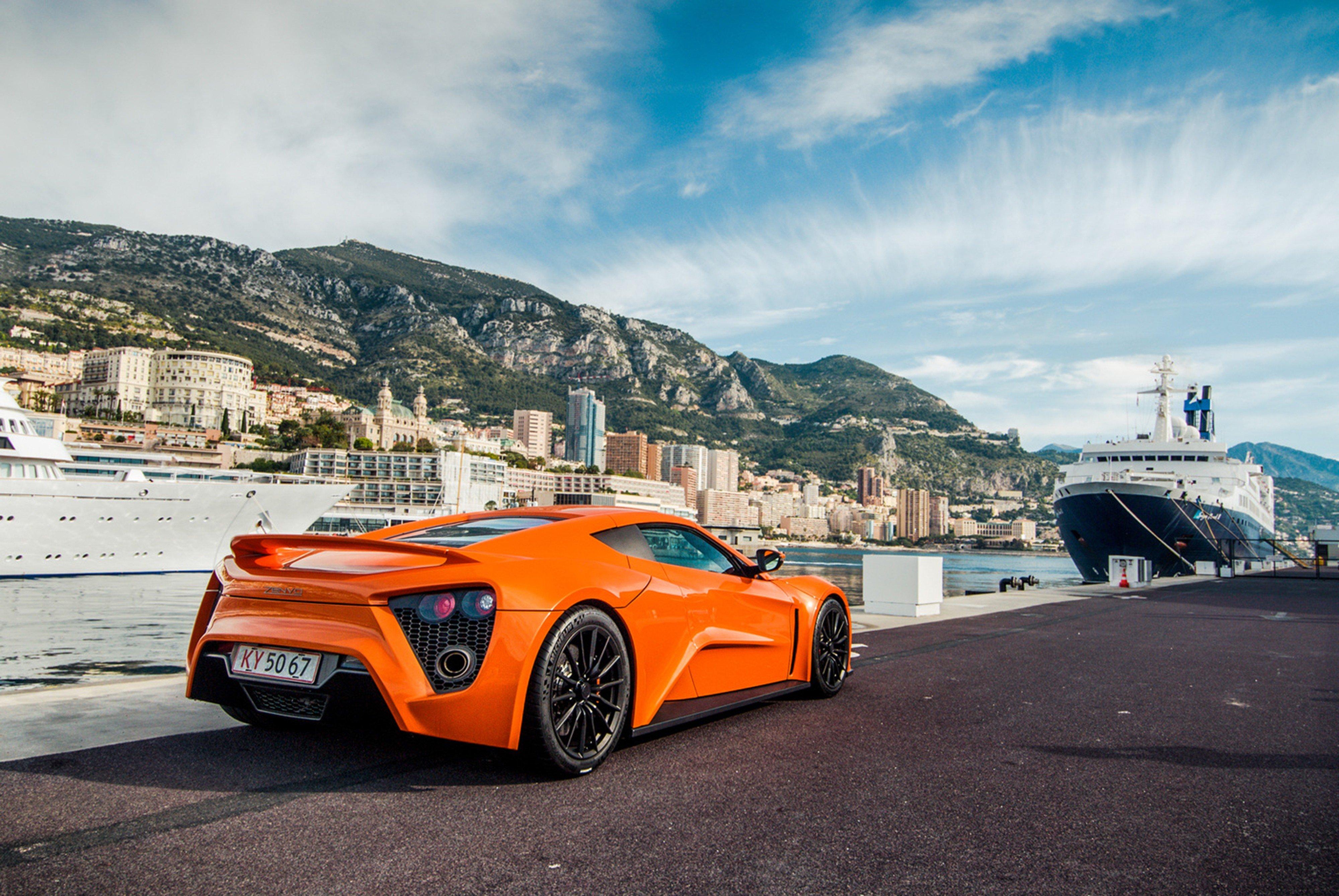 2009 Zenvo St1 Tours Monaco Supercar Car Sports Orange City Europe Wallpaper 4000x2677 349082 Wallpaperup