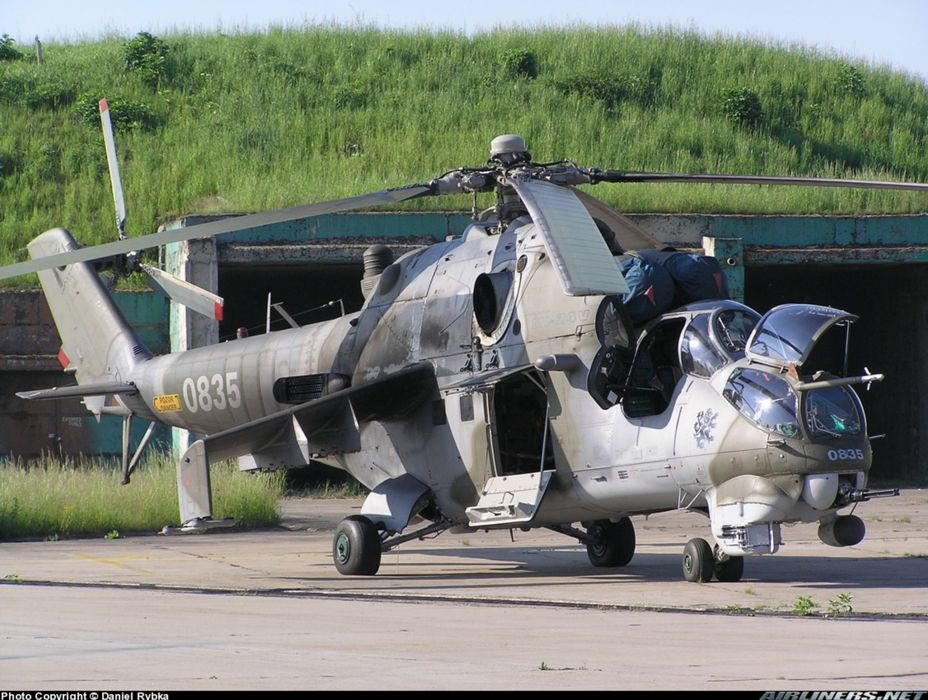 helicopter aircraft attack military army Czech-Republic mil-mi wallpaper