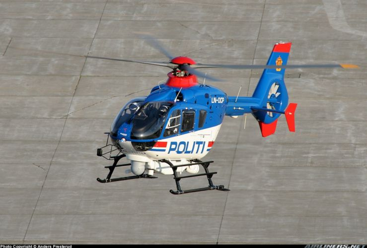 helicopter aircraft police Finland eurocopter ec-135 wallpaper