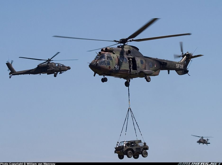 helicopter aircraft transport cargo Czech-Republic military army wallpaper