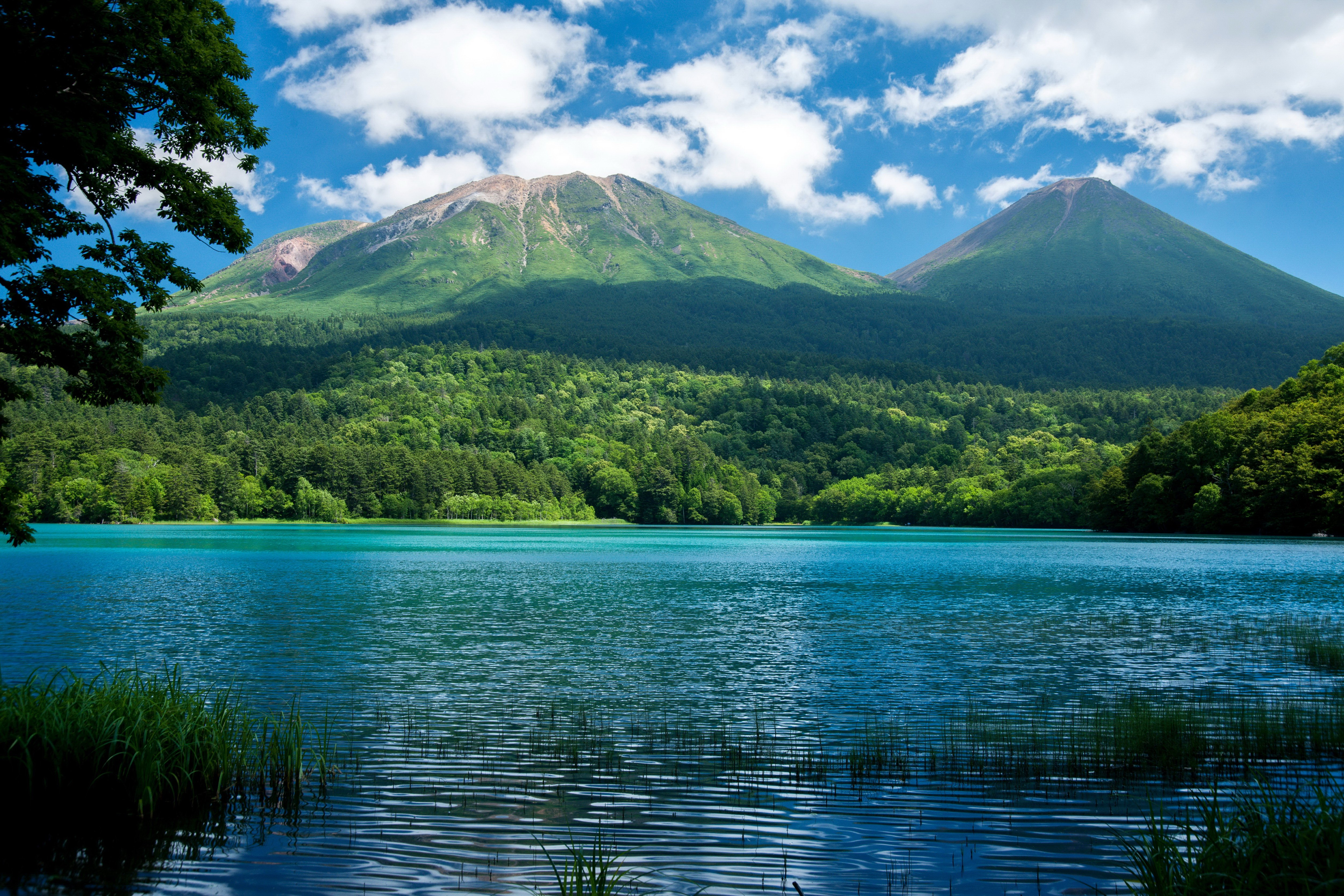 Scenery lake mountains forests nature wallpaper - 10k wallpaper nature ...