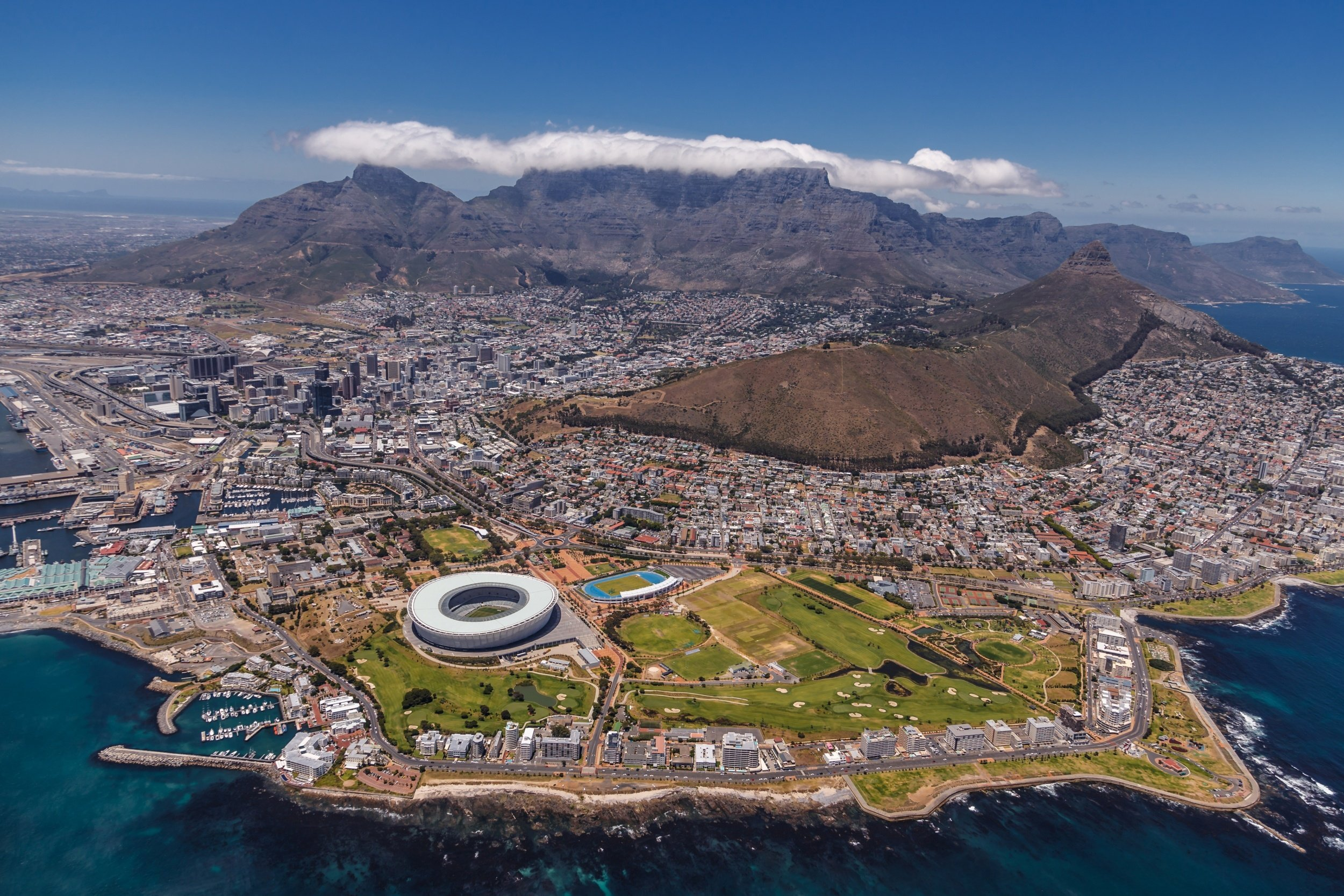 how to get to cape town south africa