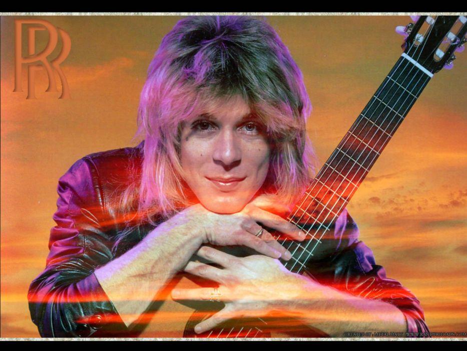 RANDY-RHOADS ozzy osbourne heavy metal randy rhoads guitar poster wallpaper