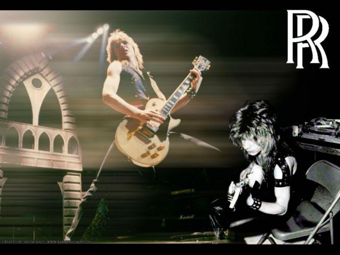 RANDY-RHOADS ozzy osbourne heavy metal randy rhoads guitar wallpaper