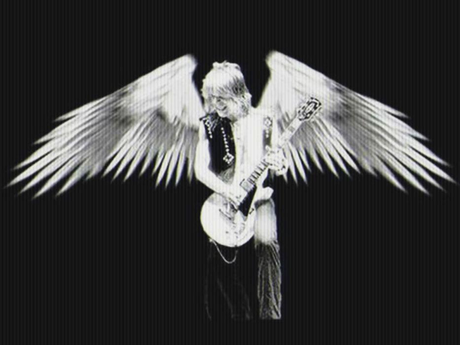 RANDY-RHOADS ozzy osbourne heavy metal randy rhoads guitar fantasy angel wallpaper