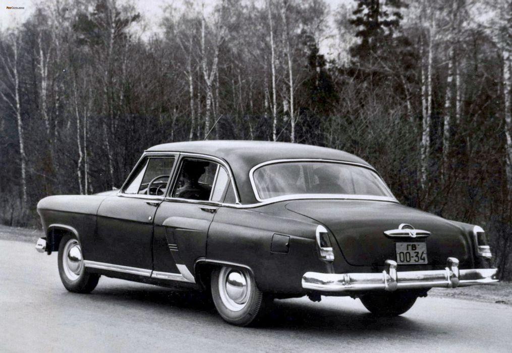 1954 russian car volga gaz Russia 4000x2759 wallpaper