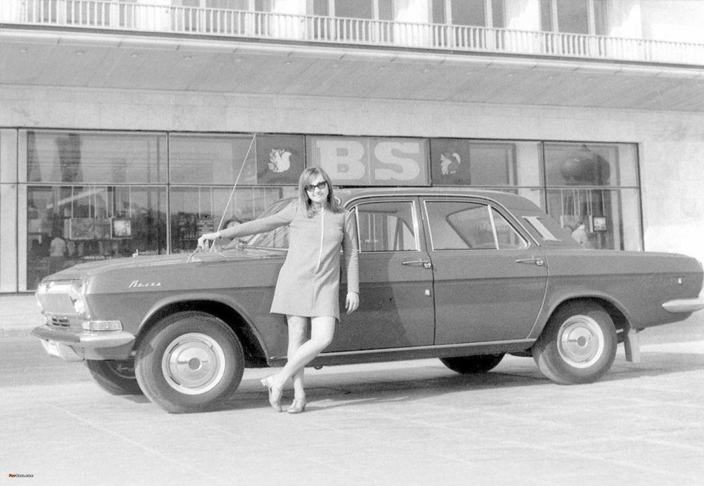 1968 russian car volga gaz Russia 4000x2759 wallpaper