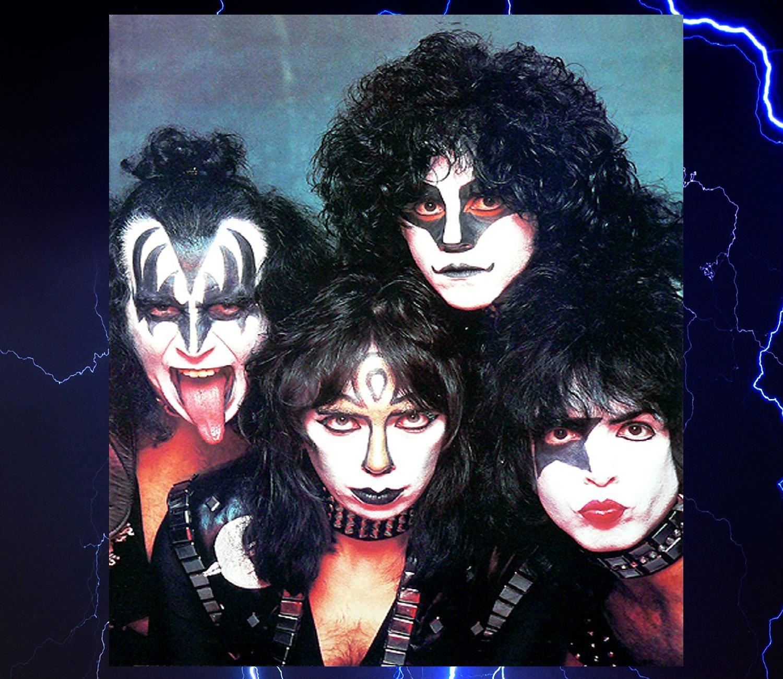 Kiss Band Makeup: KISS VINNIE-VINCENT Invasion Heavy Metal Guitar Vinnie